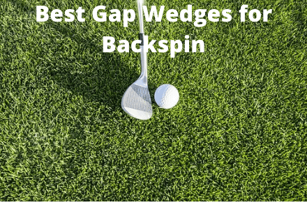Gap wedge next to golf ball