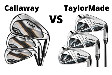TaylorMade Sim Max and Callaway Mavrik Irons